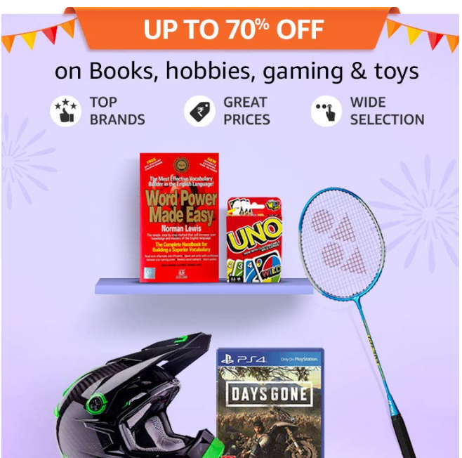 Amazon Gaming and Toys Offers