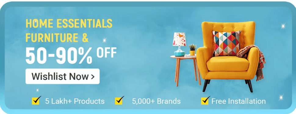 Flipkart Big Billions Day Furniture Offers