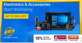 Flipkart Electronics Offers