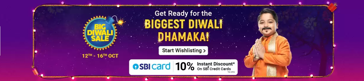 Flipkart Big Diwali sale 2019