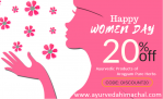 Happy Women's Day to All The Beautiful Ladies From Arogyam Pure Herbs