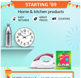 Amazon Home & Kitchen Offers, UP TO 80% OFF – Great Indian Festivals