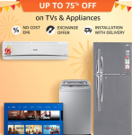 Amazon LED TV & Home Appliances Offers and Deals – Great Indian Festivals 2019
