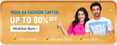 Flipkart Fashion Offers – UP TO 90% OFF, Big Billions Day Sale 2019