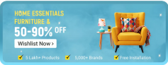 Flipkart Home Furniture Offers, UP TO 50 to 90% OFF, Big Billions Day Sale 2019