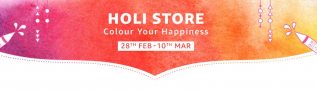 Amazon Holi Store 28th Feb to 10 March 2020