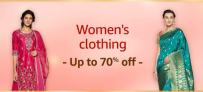 Amazon Womens Ethnic Wear Offers, Up To 70% OFF