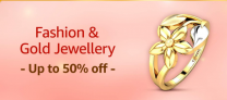 Amazon Gold Jewellery Offers and Deals, Up To 50% OFF