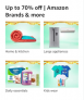 Up to 70% off   Amazon Brands & more, Great Indian Festivals