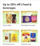 Up to 50% off | Food & beverages, Great Indian Festivals Offers