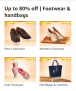 Up to 80% off | Footwear & handbags, Great Indian Festivals Deals