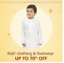 Kids' clothing & footwear, Up To 70% OFF