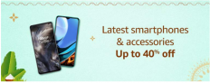 Mobiles & Accessories, Up To 40% OFF