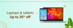 Laptops & Tablets, Up To 30% OFF