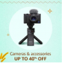 Cameras and Accessories, Up To 40% OFF