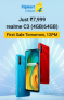 Realme C3 ( 4GB|64GB) – Sale From Tomorrow