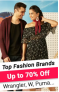 Top Fashion Brands, Up to 75% Off