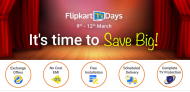 Flipkart TV Days – UpTo 75% OFF for Smart LED 4K TVs