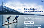 Nokia (43) Inch TV – Sale on 8th June 2020