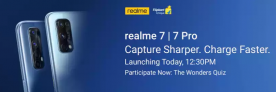 Realme 7 | Realme 7 Pro Offers & Deals – Live Sale Now