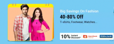 Fashion Flipstart Days – Offers & Deals 40% – 80% OFF
