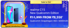 Realme C15 Qualcomm Edition (64 GB), Offers and Deals
