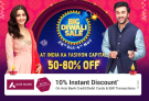 Big Diwali Sale 2020 – Men and Women Fashion Stores, Up To 50% – 80% OFF