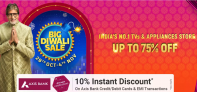 Big Diwali Sale 2020 – TV and Appliances, Up To 75% OFF