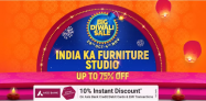 Big Diwali Sale 2020 – Furniture Offers and Deals, Up To 75% OFF