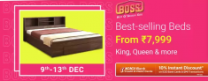 Flipkart Best Selling Beds Offers & Deals