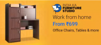 Work From Home Furniture Offers and Deals, From Rs.699