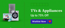 TV & Appliances, Up To 75% OFF