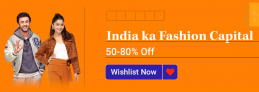 Flipkart Fashion Offers,  50% – 80% OFF