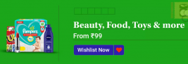 Beauty, Toys, Food and more, From Rs 99